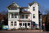 Tourist information, town marketing, Bad Harzburg, Goslar district, Harz, Lower Saxony, Germany, Europe, PublicGround
