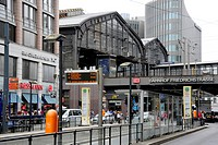 Friedrichstrasse train station, Berlin Mitte, Germany, Europe