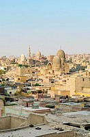 view of cairo old town in egypt