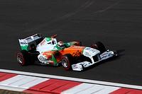 Qualifying, Adrian Sutil GER, Force India F1 Team, VJM04, F1, Korean Grand Prix, Yeongam, Korean.