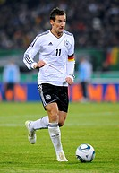 Miroslav Klose, Germany, international football match, friendly match, Germany _ Netherlands 3:0, Imtech Arena, Hamburg, Germany, Europe
