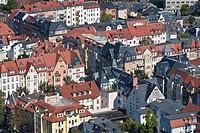 Cityscape of Jena, Thuringia, Germany.
