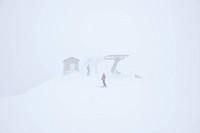Mount Cimone, Tana del Lupo ski track.