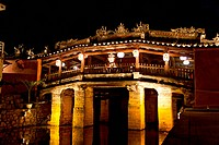 Japanese Bridge at night, Hoi An, Vietnam, Southeast Asia