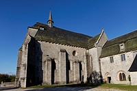 Church of Saint Michel des Anges, Saint Angel, Parc Naturel Regional de Millevaches en Limousin, Millevaches Regional Natural Park, Correze, France, E...