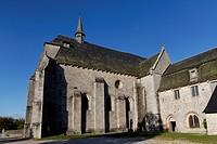 Church of Saint Michel des Anges, Saint Angel, Parc Naturel Regional de Millevaches en Limousin, Millevaches Regional Natural Park, Correze, France, E...
