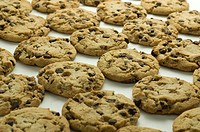 Picture of chocolate chip cookies.