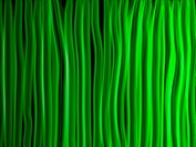 Vector _ Abstract Green Lines Background