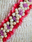 Handmade decoration flower for thai ceremony.