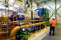The combustor ´Twence´ in The Netherlands is able to process 550,000 tonnes of waste and 150,000 tonnes of biomass annually The majority of waste is b...