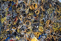 Recycling of electricity cables The wires are being shredded and then the metals seperated from the plastics All municipalities in The Netherlands are...
