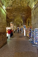 Historic town centre, under Diocletian's Palace, Split, Central Dalmatia, Dalmatia, Adriatic coast, Croatia, Europe