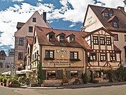 Originally built in 1375 Zum Gulden Stern claims to be the oldest bratwurst restaurant in the world Nuremberg, Germany