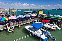 The quaint fishing village of John's Pass, Florida, USA