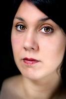Brown eyed woman