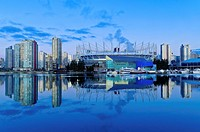 BC Place, False Creek, Vancouver British Columbia, Canada