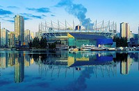 BC Place, False Creek, Vancouver British Columbia, Canada