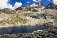 Leners Lake - Gistain Valley – Chistau - Natural park Posets-Maladeta - Sobrarbe - Aragon Pyrenees – Huesca province – Aragon - Altoaragon – Spain - E...