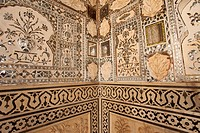 Amber Fort is located near Jaipur, Rajasthan, India.