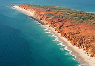 Aerial photo of Cape Leveque