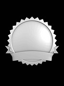 3d image, best brand badge, Silver