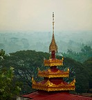 Buddhist temple in Bago,Myanmar