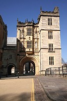 Abbey Gatehouse Bristol Central Library