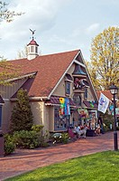 Toy shop, Peddler's Village, Lahaska, Bucks County, PA, USA