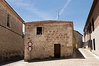Lerma typical home, Burgos, Castile and Leon, Spain, Europe