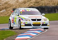 28 04 2012 Thruxton, Robert Collard driving the Ebay Motors BMW 320i E90 in action during Saturdays qualifying in the 2012 British Touring Car Champio...