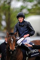 06 05 2012 Newmarket, England Newmarket Guineas Festival of Racing RYAN MOORE WINS ON HOMECOMING QUEEN The QIPCO 1000 Guinea STakes Race, Newmarket, S...