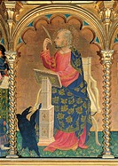 Polyptych of SantElena, by Michele di Matteo, 1427 _ 1437 about, 15th Century, tempera and oil on panel, cm 225 x 310Each panel 111 x 64 cm _ 142 x 63...