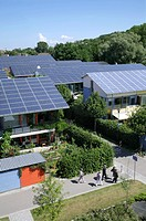 Solar Settlement. This settlement, in the Vauban district of Freiburg, Germany, was built between 2000 and 2005. It consists of 59 homes in units with...
