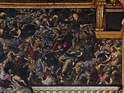Heaven, by Jacopo Robusti known as Tintoretto, 1588 _ 1592 about, 16th Century, oil on canvas, cm 700 x 2200. Italy, Veneto, Venice, Doges Palace. De...