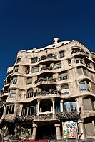 Casa Milà, designed by Antoni Gaudí, 1912, Barcelona, Catalonia, Spain, Europe