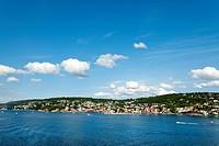 Moss, Oslo Fjord, South Norway, Norway, Scandinavia, Europe