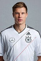 Holger Badstuber, at the official portrait photo session of the German men's national football team, on 14.11.2011, Hamburg, Germany, Europe
