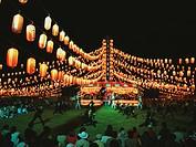 Nakashibetsu summer festival