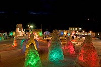 Chitose_Lake Shikotsu Ice Festival