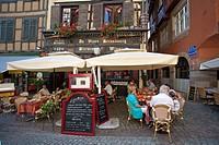 Au vieux strasbourg restaurant and pub, Strasbourg, Alsace, France, Europe