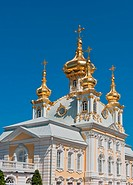 Grand palace, Petergof, Russia