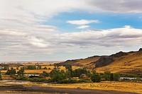 Pastoral landscape.