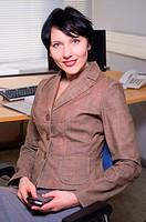 Beautifull businesswoman