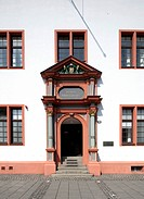 Old University, Domus Universitatis, Mainz, Rhineland-Palatinate, Germany, Europe, PublicGround
