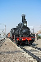 Russian vintage steam locomotive Ov-841