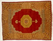 Rugs and Carpets: Turkey _ Kula medallion carpet