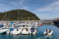 Port of Gorliz, Bizkaia, Pais Vasco, Spain