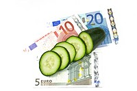 Costly E.coli outbreak in Europe where cucumbers where blamed for the scare