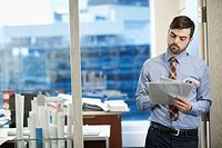 Businessman at modern office (thumbnail)