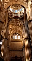 Inside of the Cathedral of Salamanca, 16th centure.